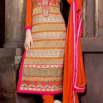 New Launched Embroidered Shirts By Kaneesha 2015