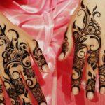 arabic hand mehndi