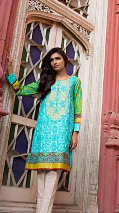 embroidered kurtis on eid