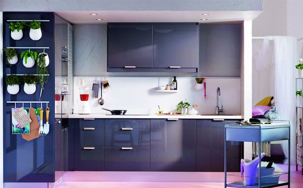 colorful kitchen for home