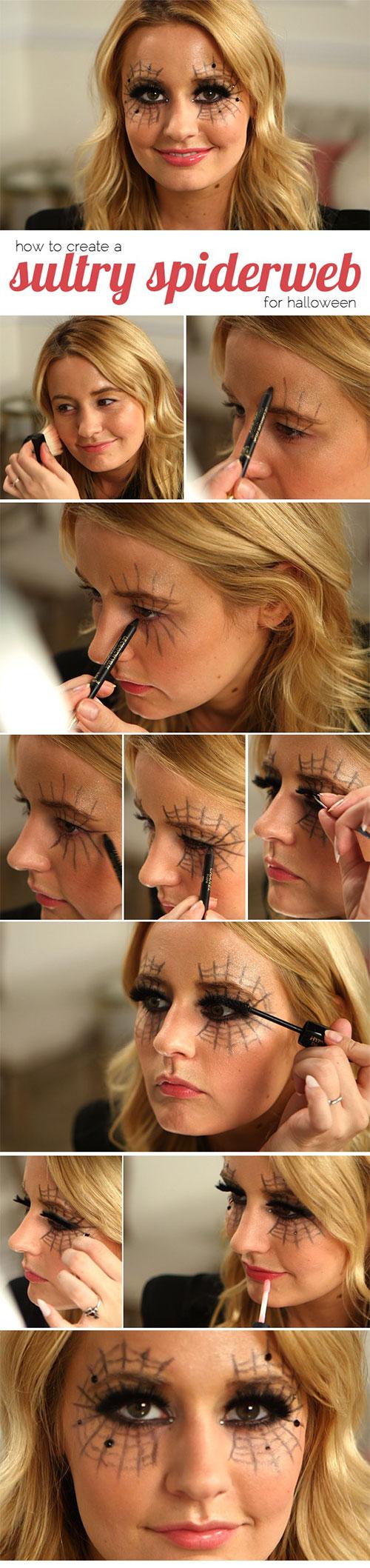 scary eye halloween makeup