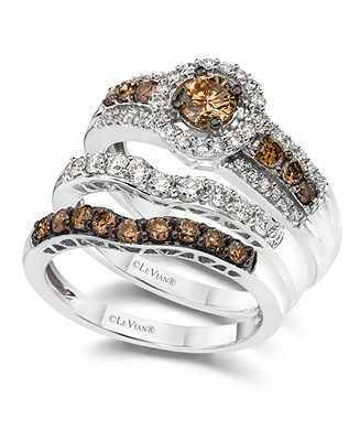 Chocolate Color Engagement Rings For Your Memorable Time