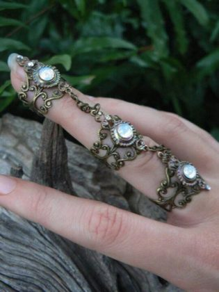 full finger ring jewellery