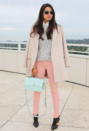 Pastel color clothing