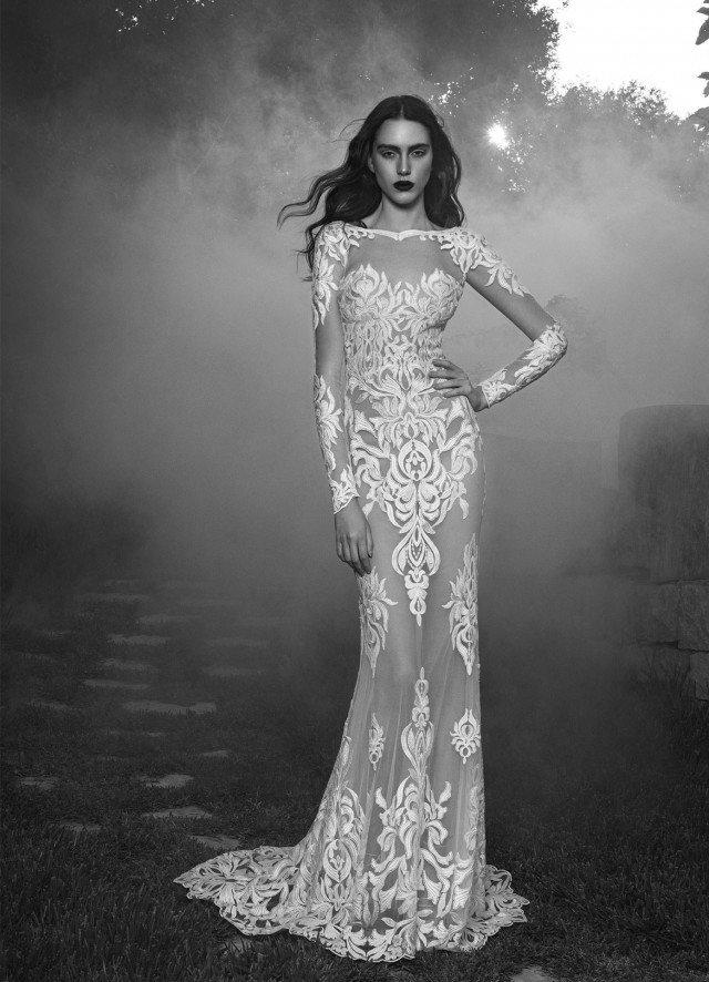 Glamour bridal dress