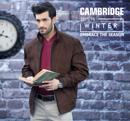 Cambridge Winter Casual Dresses Men Collection 2016
