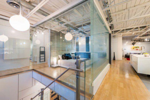 Glass bedroom designs