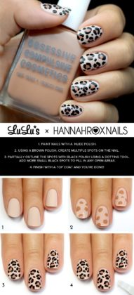 Leopard Print Nail Art Ideas For Special Events 2015-16