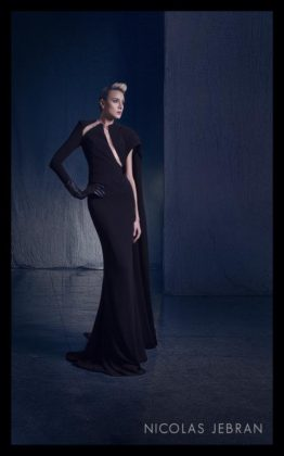 Nicolas Jebran black dress