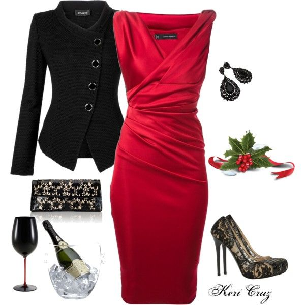Polyvore party wear
