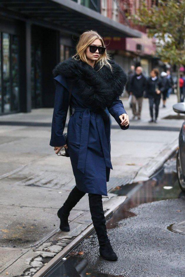 Winter robe coats