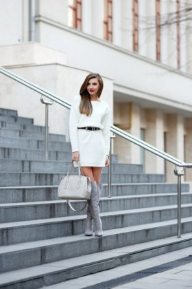 All White Outfits To Try This Winter-Spring Season