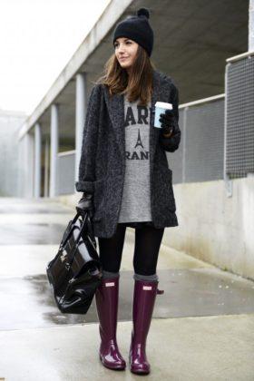Casual Winter Women Street Style Looks To Copy
