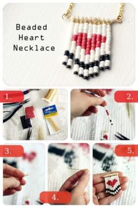 Heart shaped DIY projects