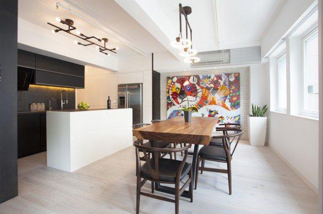 Inspiring Dining Room Industrial Interior Designs 2016