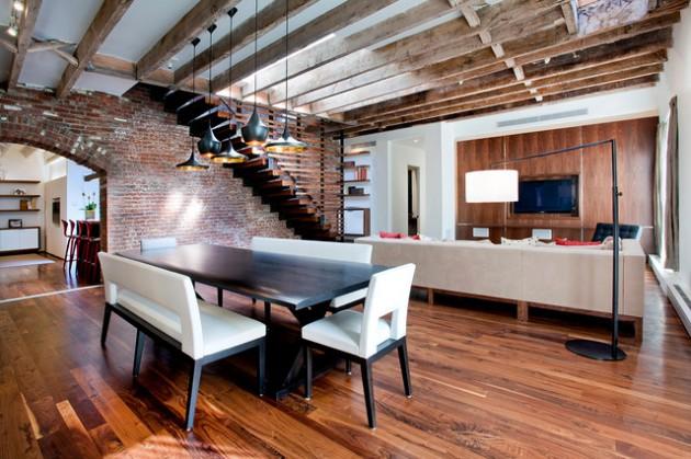 Dining room industrial interior designs