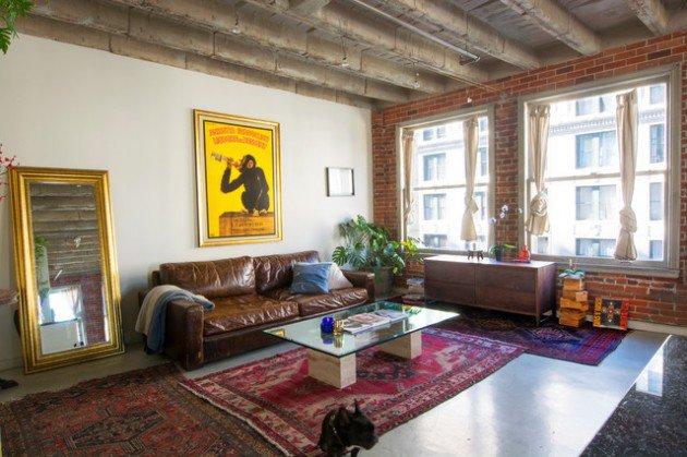 living room interior industrial home designs