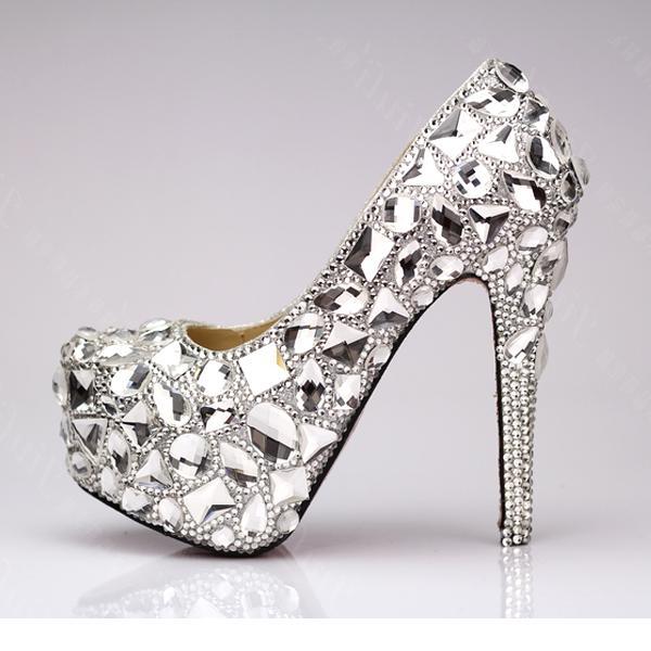 Rhinestone heel designs