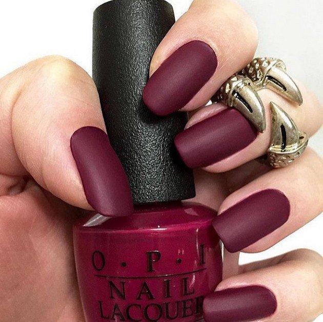 Matte nail designs
