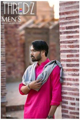 Threadz Spring Men Collection Shalwar Kameez Chadar 2016