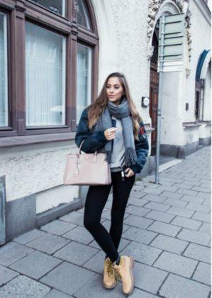 Women Timberland Boots Street Style Looks 2016