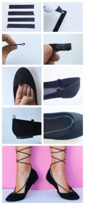 DIY Flast Shoes For Women To Be Worn In Spring Season