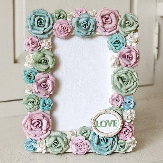 Handmade photo frames