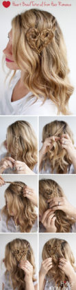 Valentines Day Hair Tutorials You Will Love To Make