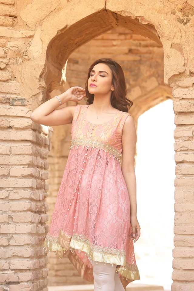 Aye Nur Zahra Ahmed Fancy Dresses Collection 2016