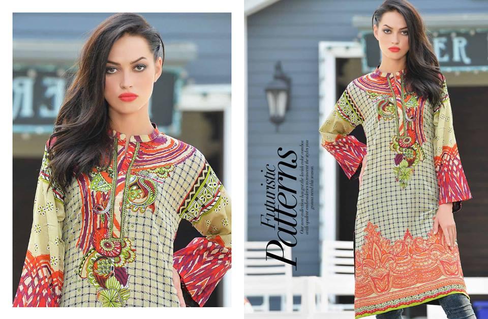 Doha Embroidered Summer Kurti Collection