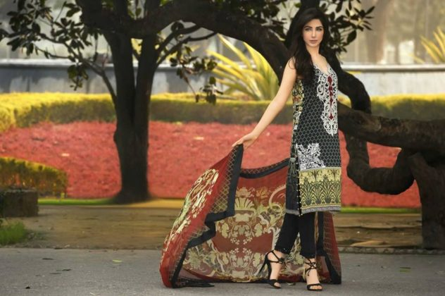 Kamal Lawn Shalwar Kameez Dresses By So Kamal 2016