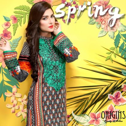 Origins Ready To Wear Spring Summer Kurtis 2016