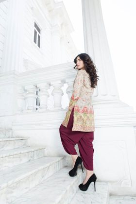 Paperazzi Spring Summer Lawn Nida Azwer Collection 2016