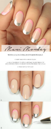 Simple Nail Tutorials Step By Step Guide For Summer Season