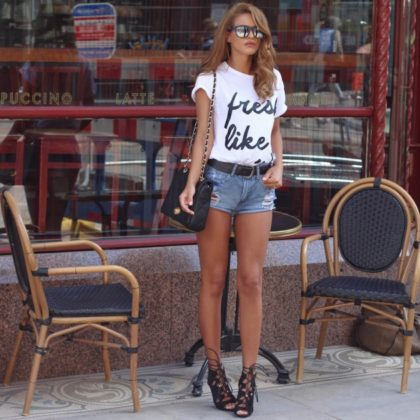 Use Of Graphic Tee Design In Summer Clothing