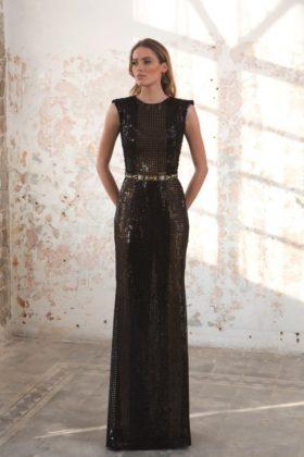 Black Pearl Evening Wear Galia Lahav Collection 2016