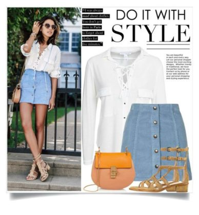 Colorful Summer Polyvore Outfits To Try While Going Out