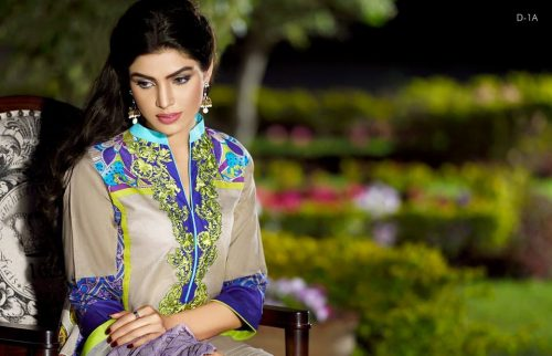 Firdous Embroidered Eid Lawn Dresses