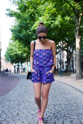 Street Style Rompers Outfits For Summer Casual Wearing