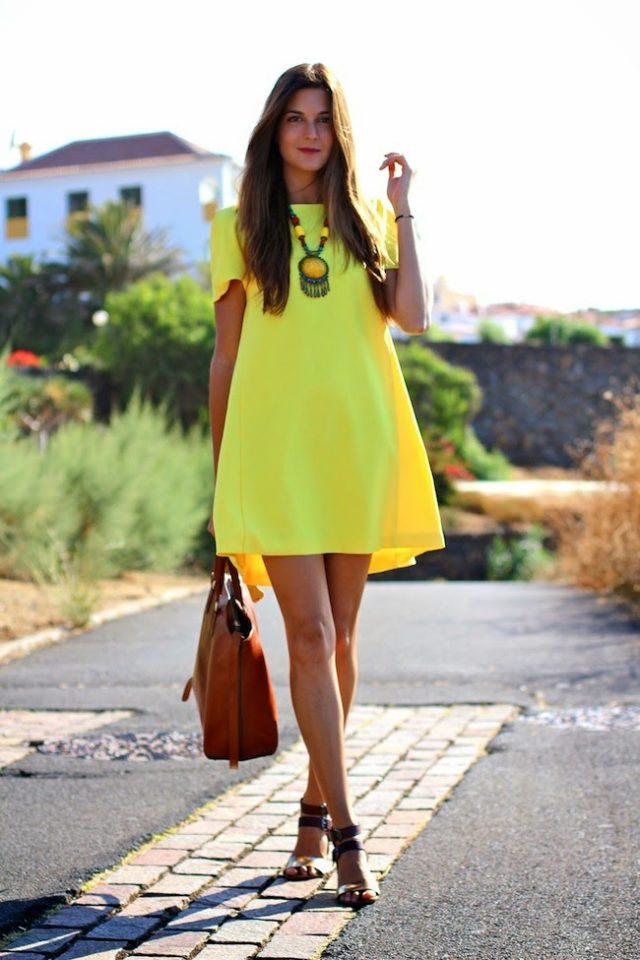 Lime Green Outfits