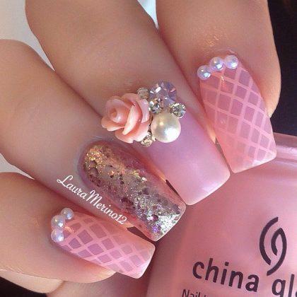 Ocean Inspired Nail Designs