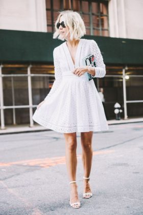White Outfits Trend For This Summer Season