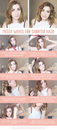 Medium Hair Waves