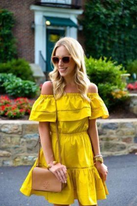 Ruffled Dresses For Summer End Season 2016-17