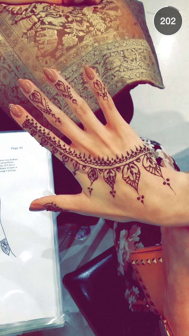 Hand Finger Mehndi Designs For Autumn Events 2016 8