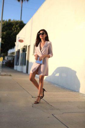 Tuxedo Dress Trend