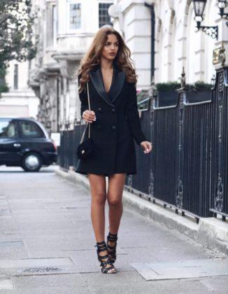 Tuxedo Dress Trend For Summer Season Women Clothing Ideas