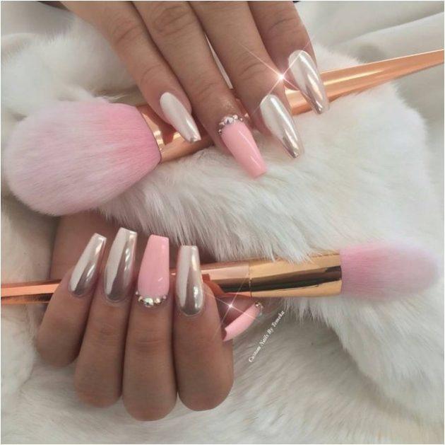 15 Pink Nail Designs That Will Make You Glamorous