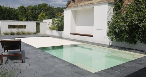 Fibre glass pool