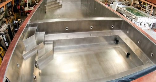 Stainless stee pool image